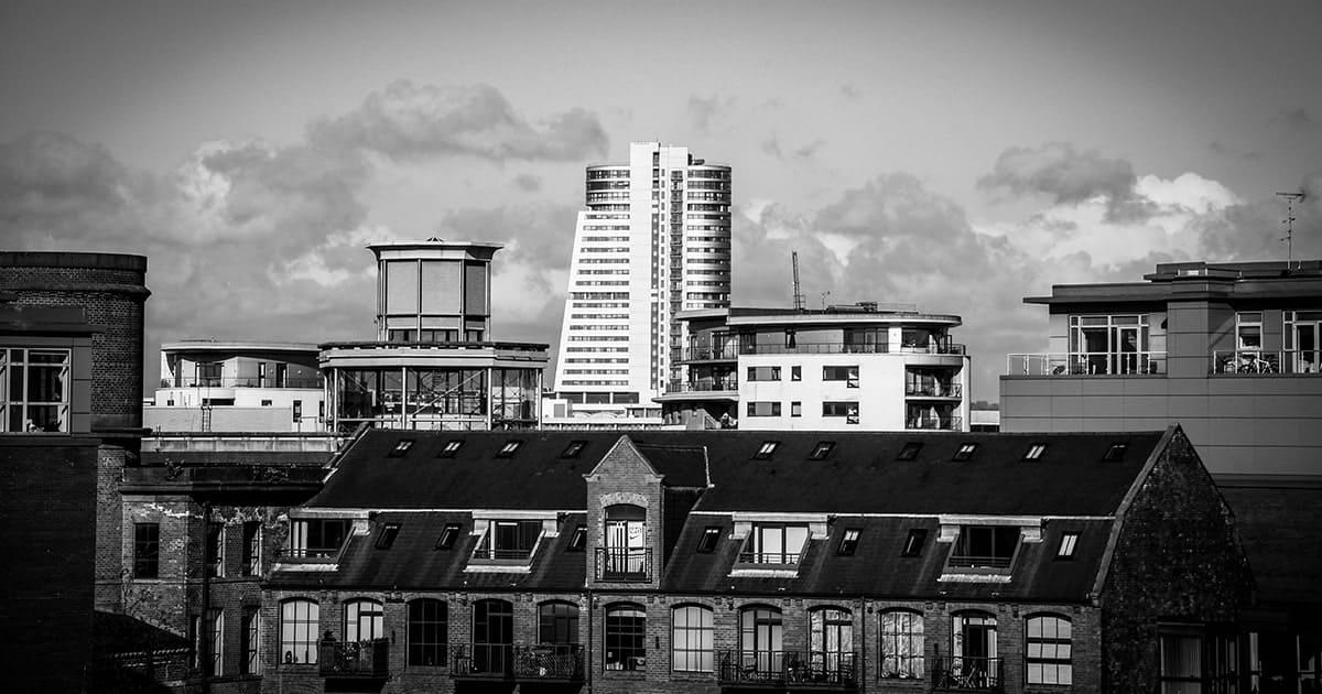image of leeds city centre skyline
