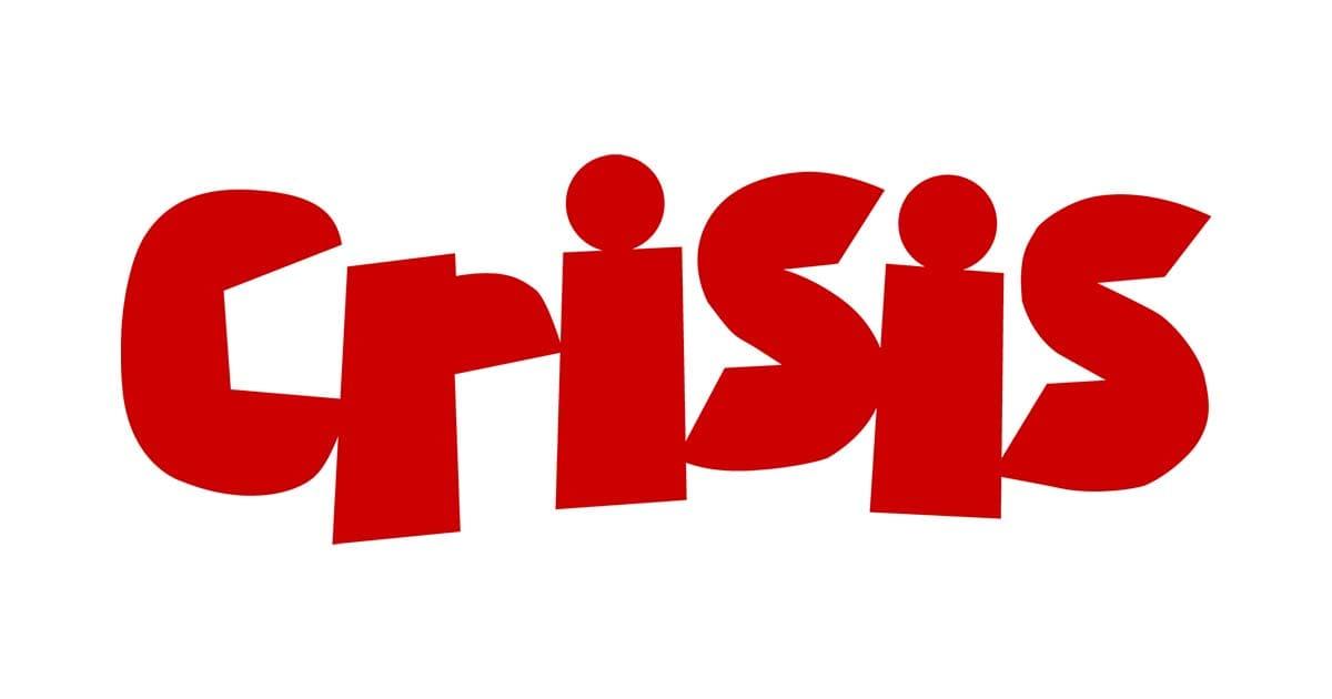 crisis homelessness charity logo